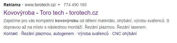 Reklama PPC Google Ads