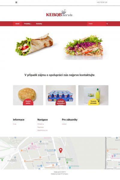 Webové Stránky Kebabservis 1